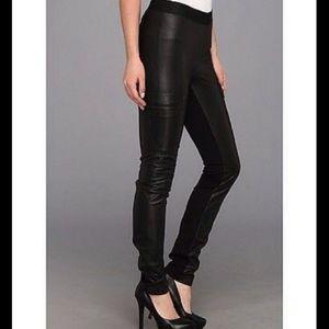 BCBGMAXAZRIA faux leather NWT wilcox LEGGING